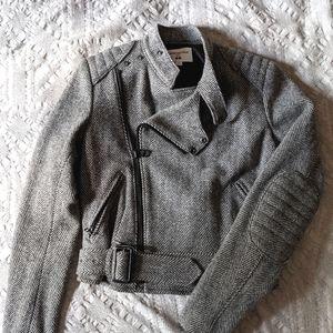 NWOT Carine Roitfeld x Uniqlo Moto Jacket